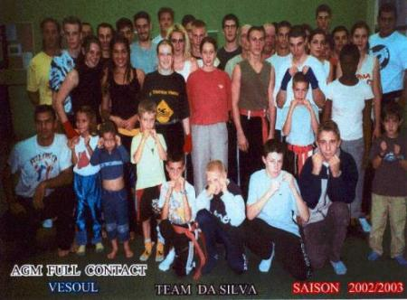Le groupe 2003
